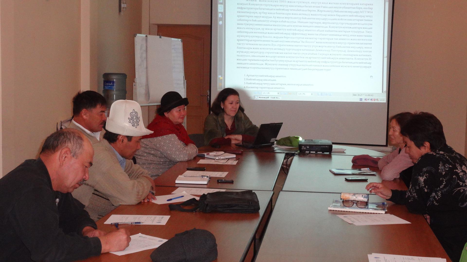 Кыргызстан: Как создать стратегию развития новостроек. Опытные активисты поделились своими знаниями