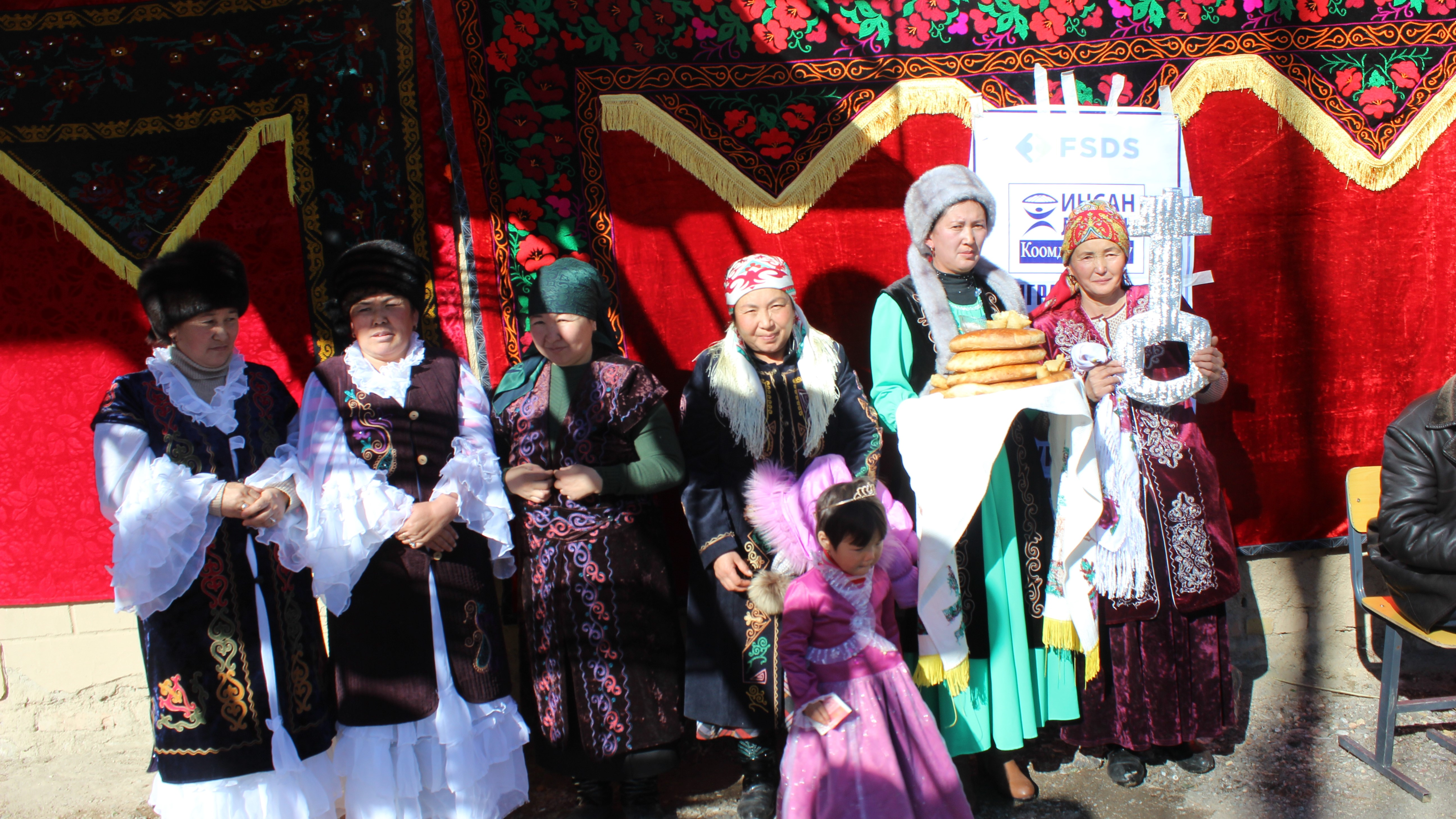 Кыргызстан: Открытие швейного цеха в селе Айкол