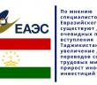 Душанбе в раздумьях: эксперты о главных перспективах Таджикистана в ЕАЭС.