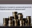 Мигранты становятся «разменной монетой» в борьбе за власть в Таджикистане?