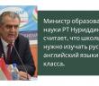 В школах Таджикистана хотят ввести обучение русскому языку с первого класса.