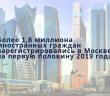 В МВД РФ подсчитали, сколько мигрантов зарегистрировались в Москве.