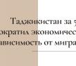 В Душанбе обсудили вклад диаспор в укрепление национальной государственности Таджикистана.