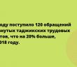 Таджикских мигрантов все чаще обманывают в России.