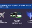 В июле 2020 года из РФ в КР было организовано 35 авиарейсов и вывоз на 32 автобусах 7 986 граждан
